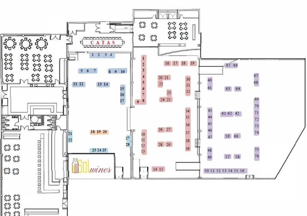 Plano Ubicación Salón Solwines