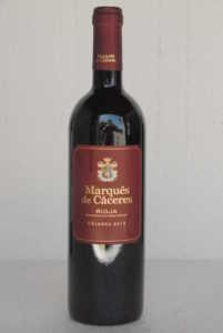 Marqués de Cáceres cr 2013 D O Rioja